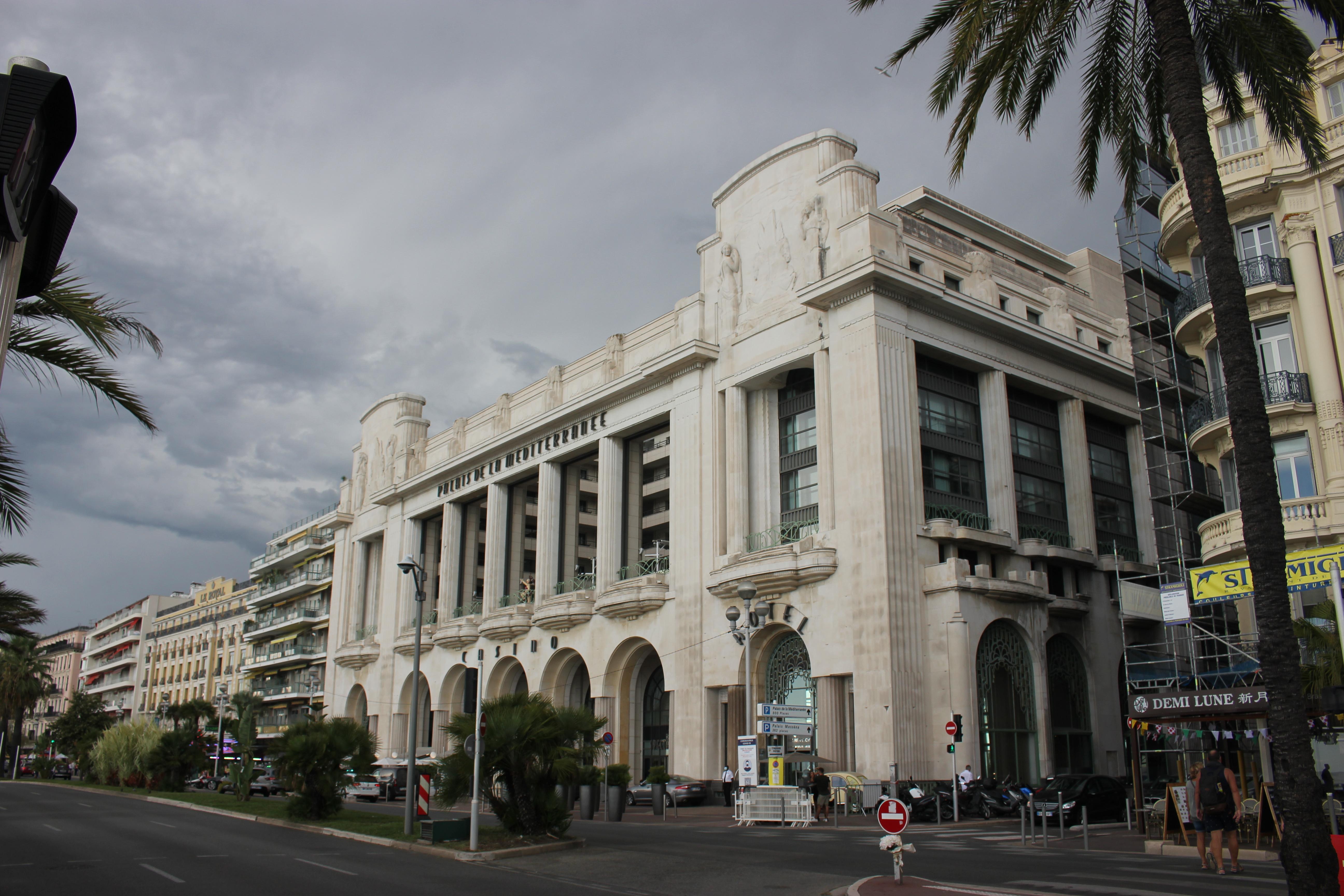 Palais de la méditerranée nice