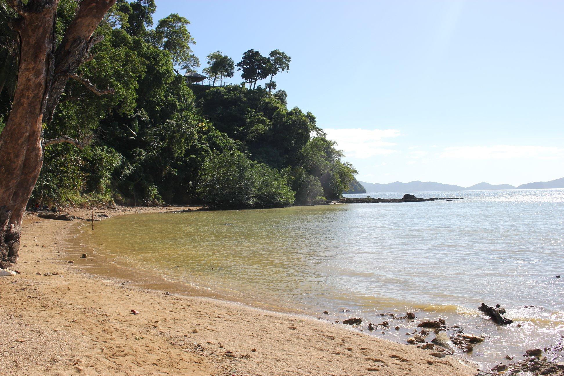 beach palawan el nido