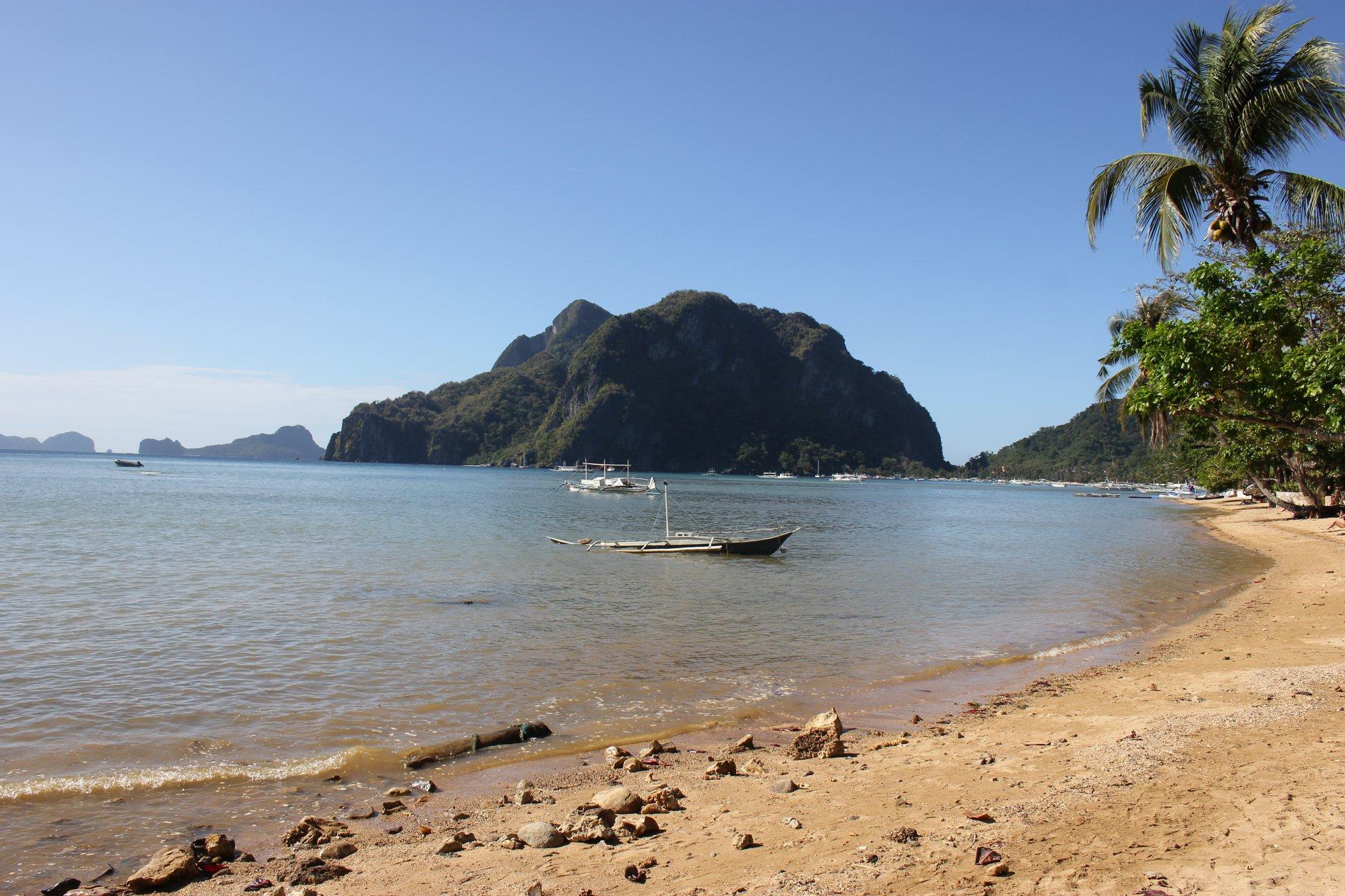 beach el nido palawan