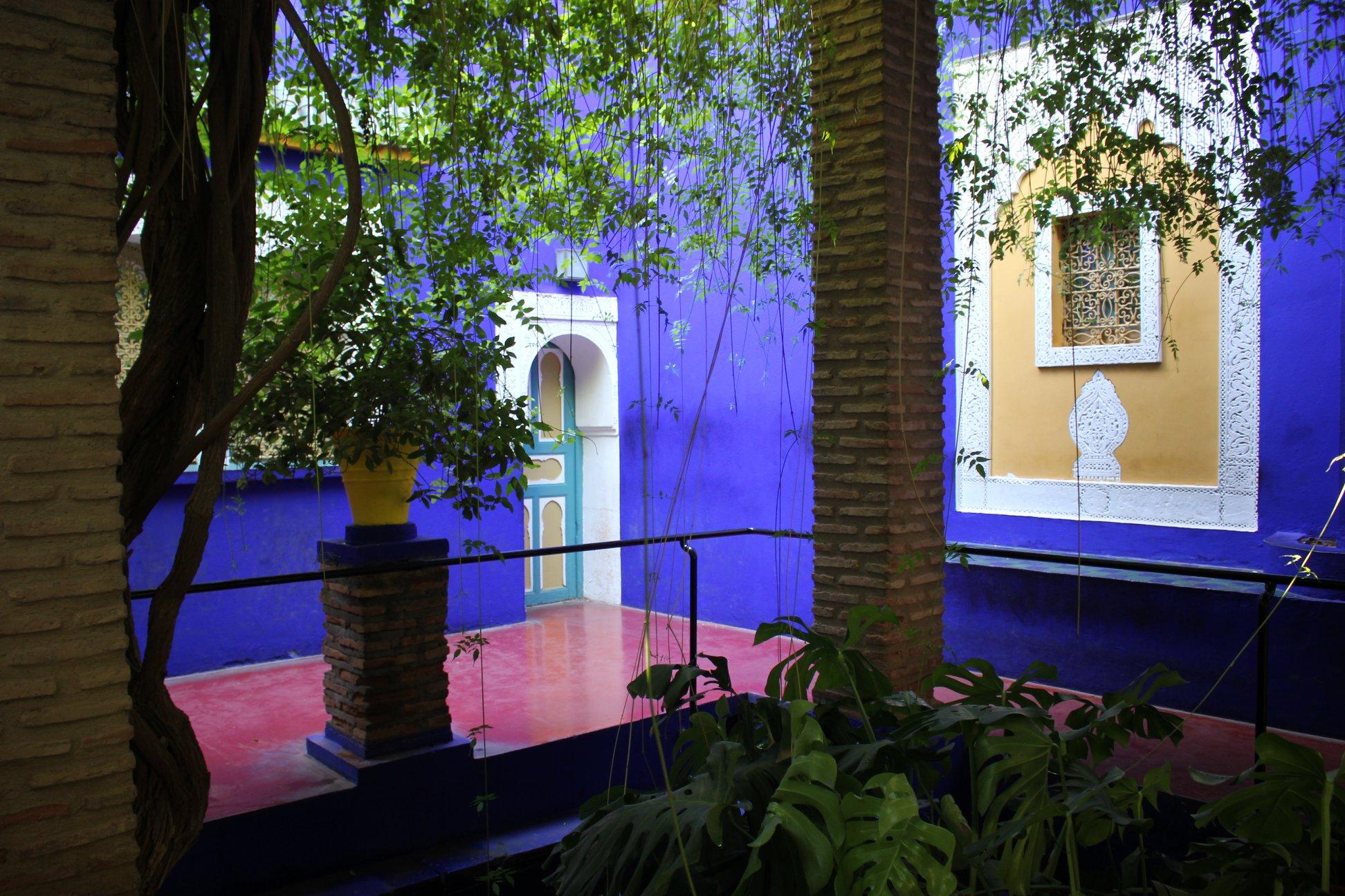 jardin majorelle bleu